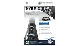 Hybrid Bügel- Kohlefaser Schlagbügel - Verlitzbügel -