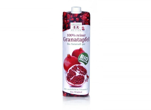 100% Granatapfelelfruchtsaft BIO