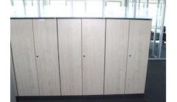 Sideboard / Aktenschrank, Ahorn von SCHÄRF, 4 OH, abschließbar