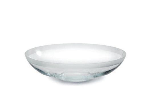 Glasschalen auch veredelt mit Randsatinierung oder Silberrand