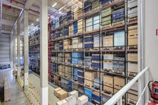 SMB Kompaktlager / Truck-Shuttle-Lagersysteme mit Multi-Movement-Funktion