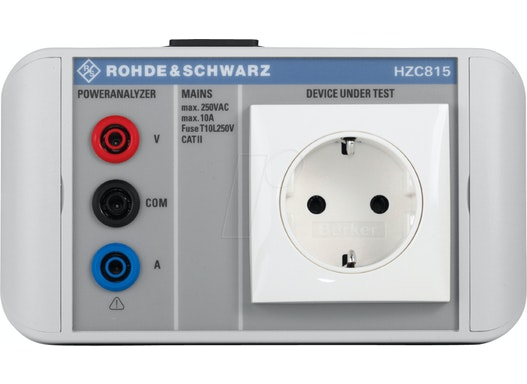 HZC 815 DE - Netzadapter für HMC8015-Serie, EU-Stecker
