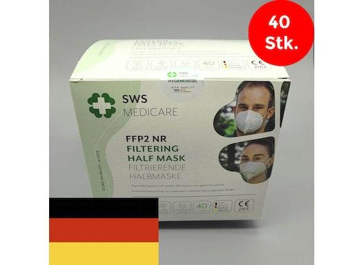 FFP2 Masken aus Deutschland SWS Medicare - 40 Stk.