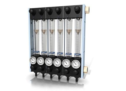 Durchflussmengenregler / Wasserbatterien