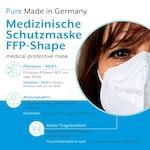 EUMEPRO Medizinische Schutzmasken FFP-Shape