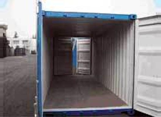 20´- Double-Door-Container - fabrikneu