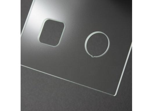 Technisches Glas für Medizintechnik, Industrie oder Office-Bereich