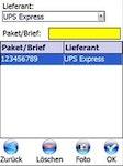 Barcode- und MDE gestützte Post-, Brief- und Warenverteilung