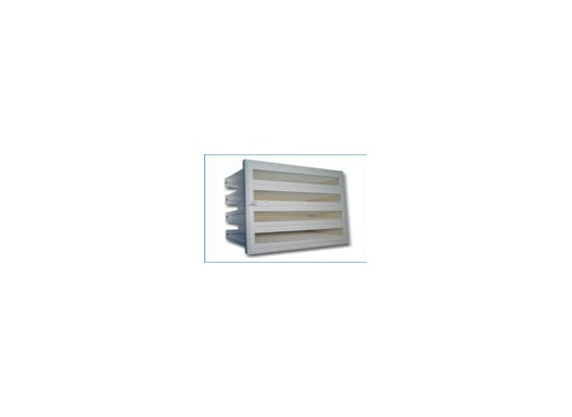 Kompaktfilter mit Kunststoff-Gehäuse Filterklasse F5–F9