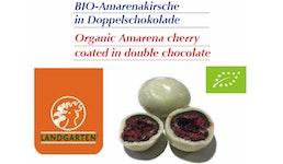 BIO-Amarenakirsche in Doppelschokolade