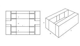 FEFCO 0433 Krempelverpackung aus Karton & Wellpappe - direkt vom Hersteller, ab 1 Stück