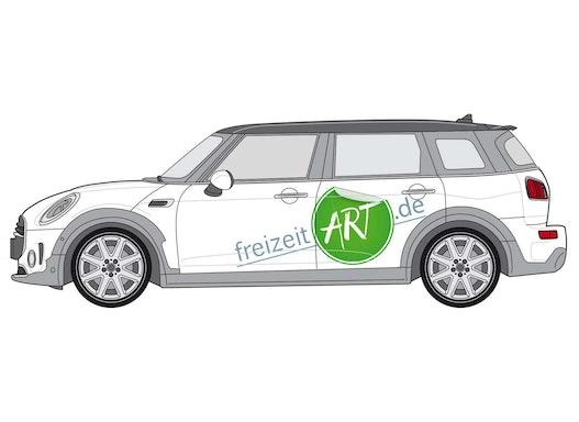 Fahrzeugbeschriftung SMALL Design Paket Normales KFZ