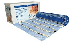 HoWaTech Duo Warmwasser Fußbodenheizung 2,5 - 20m² Paket mit oder ohne Regelung