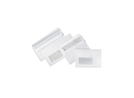 Weisse Briefumschläge mit Fenster