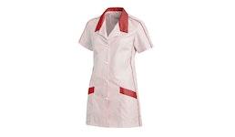 Hosenkasack 559 von LEIBER / Farbe: weiß-rot / 65 Pr. Polyester 35 Pr. Baumwolle          ...| Artikel zur Krankenpflege