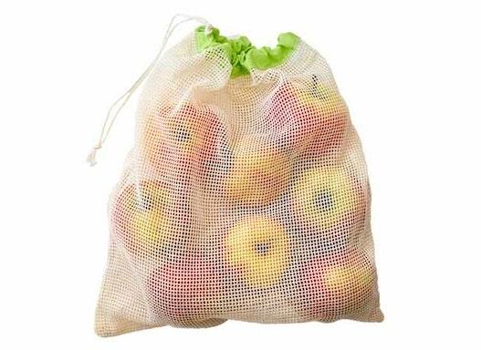 Obst- und Gemüsebeutel Baumwolle