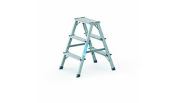 ZARGES Scana B - Stufen-Stehleiter 2x3 Stufen