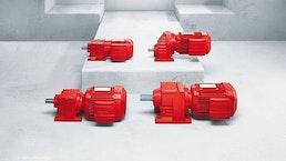 Stirnrad-Getriebemotoren