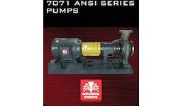 7071 ansi series pumps