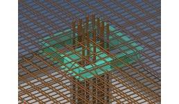 Stahlpilze System Europilz® als Durchstanzsystem für Flachdecken und Bodenplatten