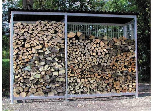 Brennholz - Unterstand