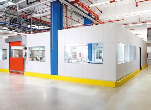 Produktionstrennwand - Trennwand für Produktion, Fertigung  und Lager