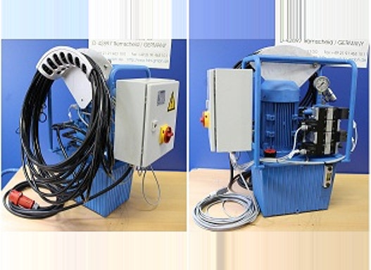 Hydraulische Rohrausziehgeräte der Serie Typ TP