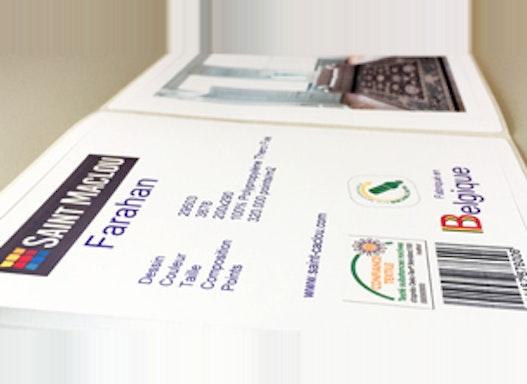 Digitaler Farbdruck - Etiketten in Kleinauflage