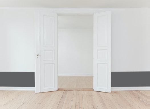 Farbige Wandschutzfolie | 100 Farben | matt oder glänzend | ablösbar