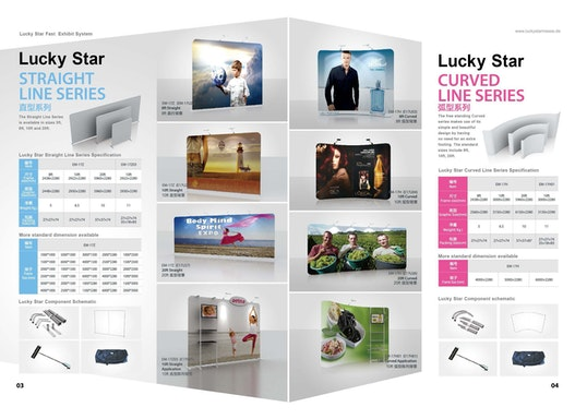 Lucky Star STRAIGHT LINE SERIES & CURVED LINE SERIES