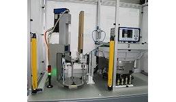 Servopressen-Anlagen - Halbautomatischer Montageplatz mit 5kN Servopresse