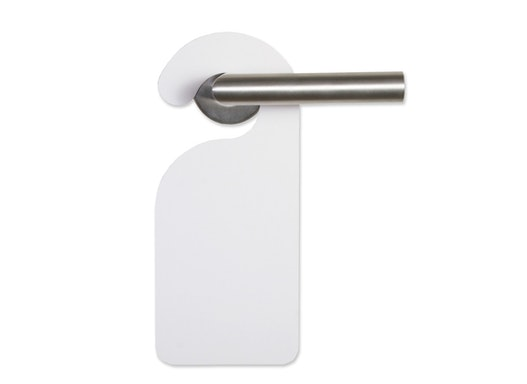 Türhänger Stanzzuschnitt - besonders günstige Verpackungslösung aus Karton & Pappe direkt vom Hersteller ab 1 Stück
