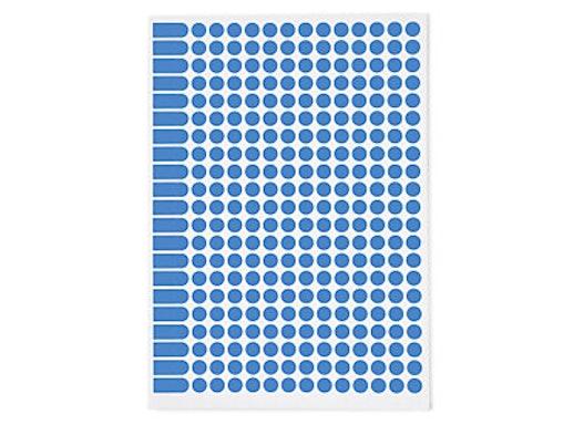Farbige Markierungspunkte auf DIN A5 Bogen 30 mm