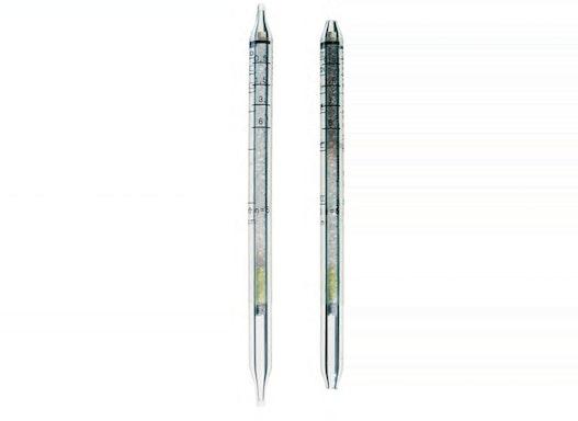 Dräger Prüfröhrchen - Hydrazin 0,01/a  0,01 bis 0,4 ppm / 0,5 bis 6 ppm - Dräger-Röhrchen