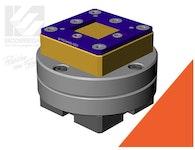 Vierkantpendelhalter für Profil 15 × 15 mm und 25 x 25 mm