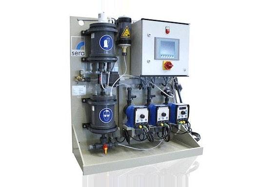 Chlordioxid Erzeugungsanlage und Dosieranlage