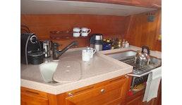 Küche und Bad auf Segelyacht, kompletter Eigenbau