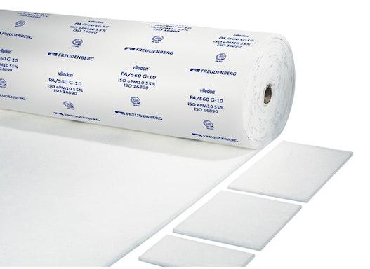 Viledon Filtermatten für die Lackiertechnik