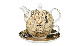 Gustav Klimt Teekanne Tea for One