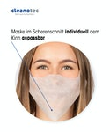 Behelfs- Einweg-Mund- und Nasenschutz
