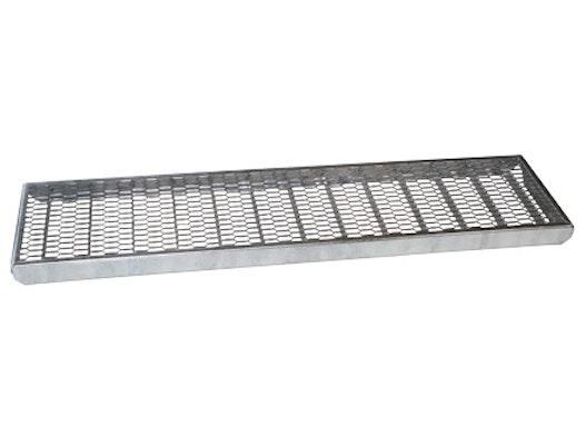 Treppenstufen aus Streckmetall und Gitterrost