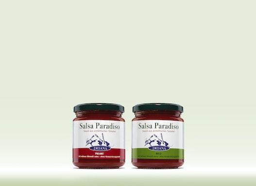 SALSA PARADISO - mild & scharf