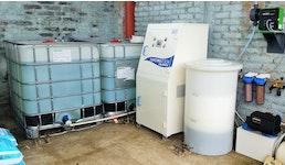 Kühlwasser Behandlung und Desinfektion