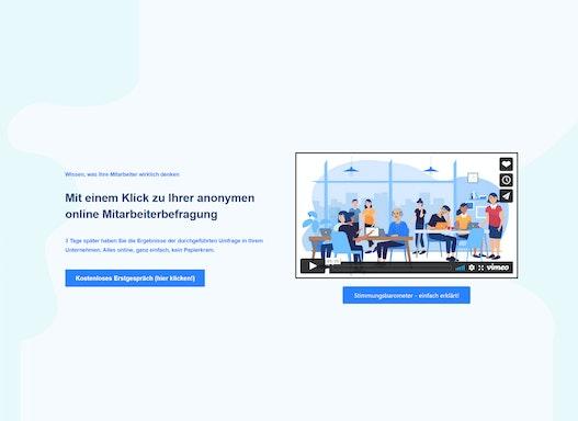 DIE anonyme online Mitarbeiterumfrage (MAUS):       einfach, schnell und günstig