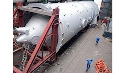 Fertigung und Transport eines Wirblers für eine Hochofenanlage