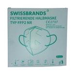 SWISSBRANDS filtrierende Halbmaske Typ FFP2 NR 3 Stück