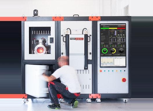 MetalMerger zum Lösungsmittelentbinder von Grünteilen, Restentbindern von Braunteilen und Sintern nach dem 3D-Druck