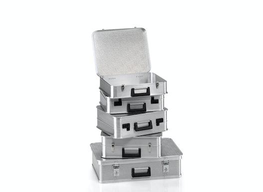 Gmöhling Transportkoffer  G®-Case A 1439/A 1489/ A 1539 aus strukturiertem Aluminium
