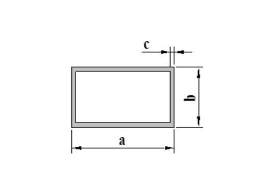 Standard Profil Rechteck & Vierkant