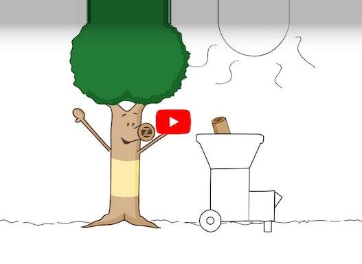 ROHRINDE- UND RINDENMULCH (PEFC-ZERTIFIZIERT)